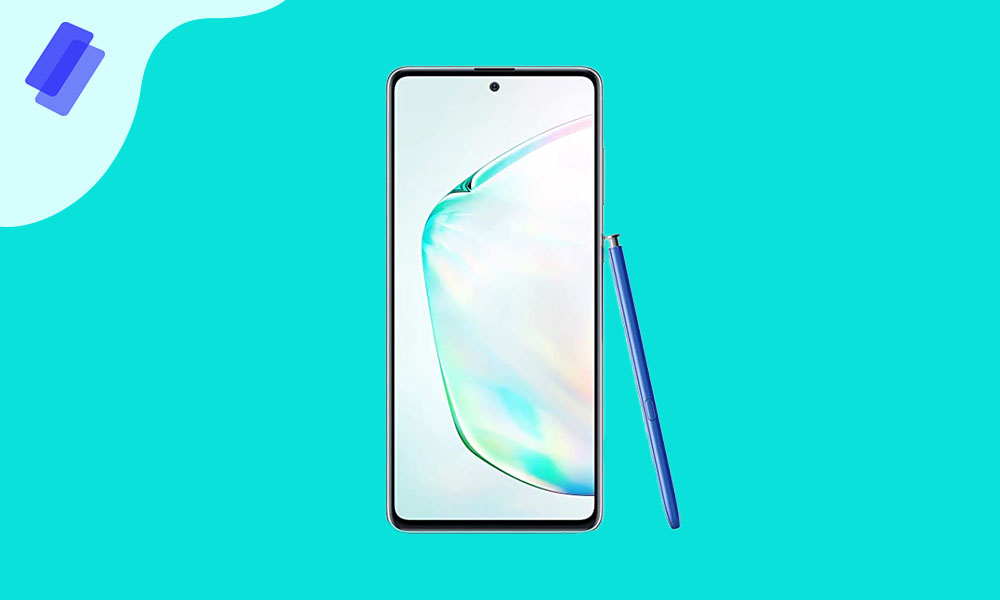N770FXXS6CTJ4: Galaxy Note 10 Lite November security 2020 patch