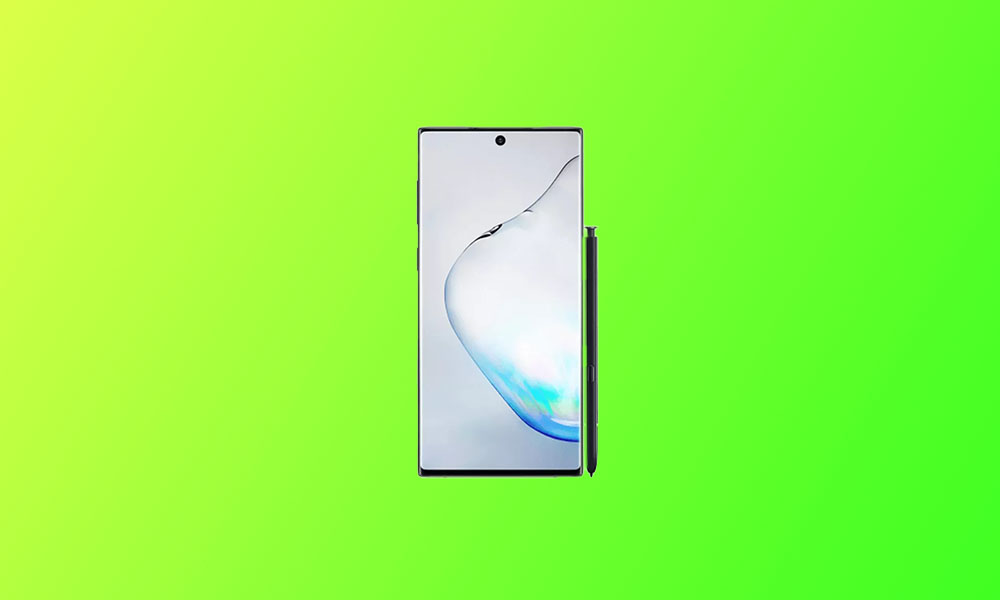 N976BXXU6DTJ4: Galaxy Note 10 Plus 5G November security 2020 patch