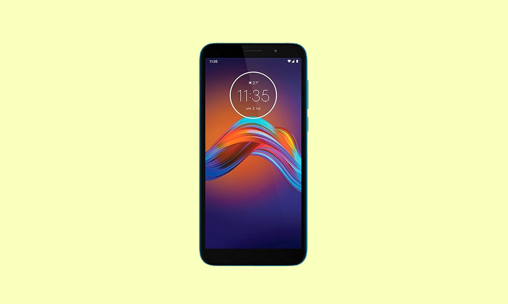 Motorola Moto E6 Play Stock ROM (XT2029 Firmware Flash File)