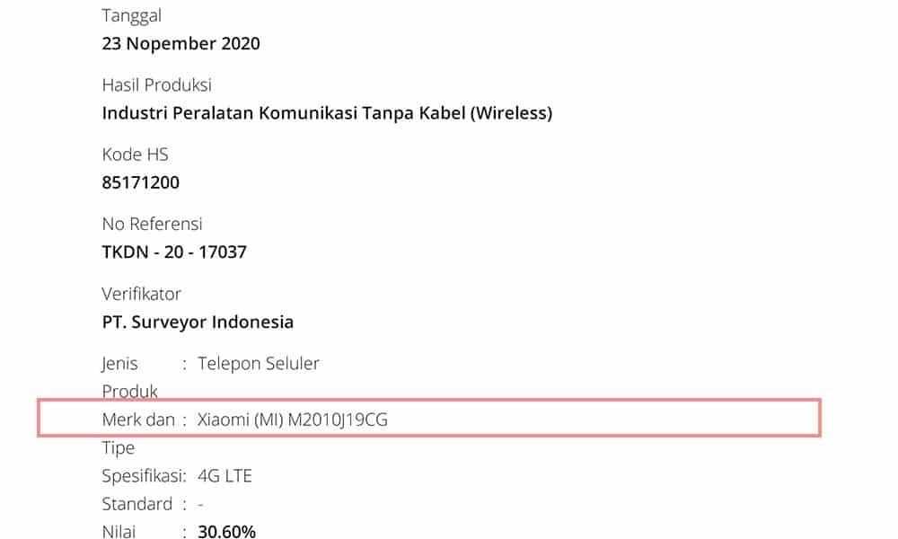 Poco M3 TKDN Certified