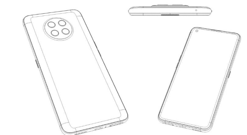 Realme smartphone patent image