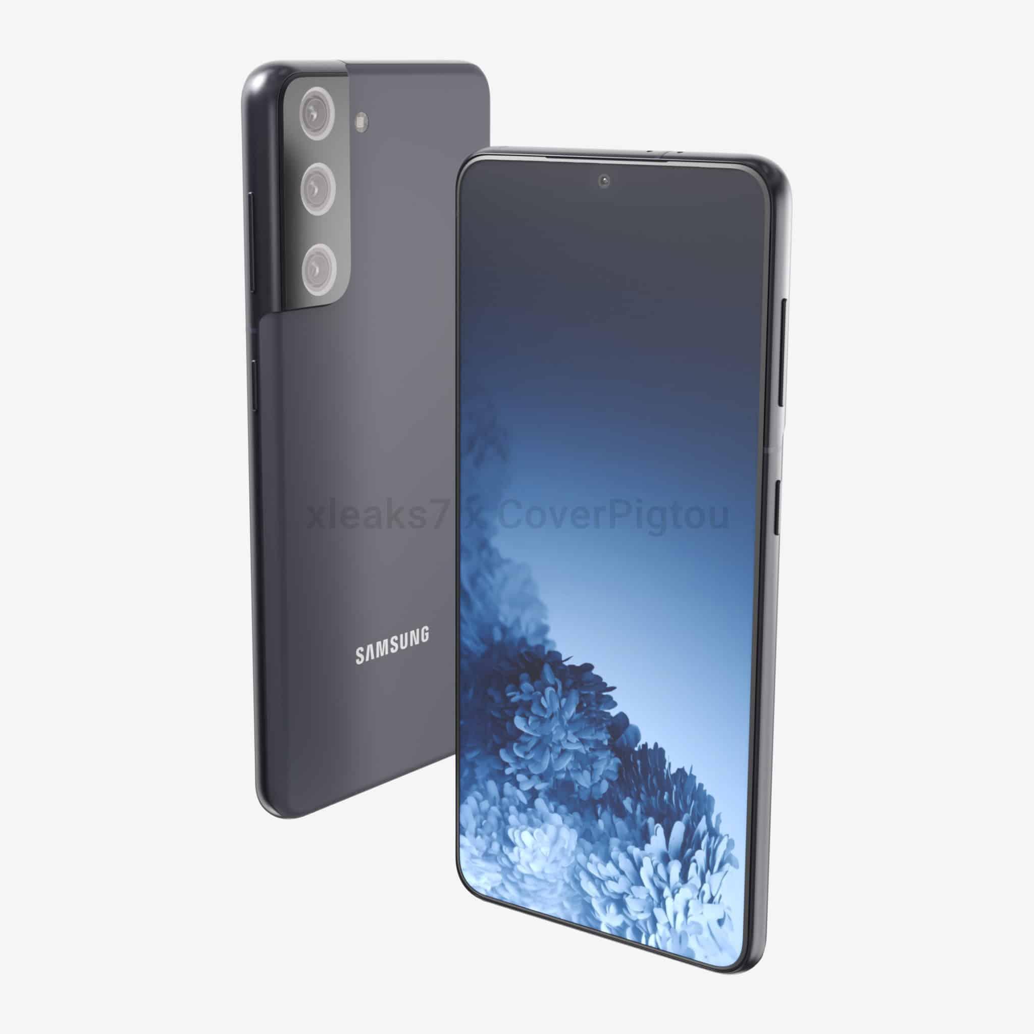 Samsung Galaxy S21 render