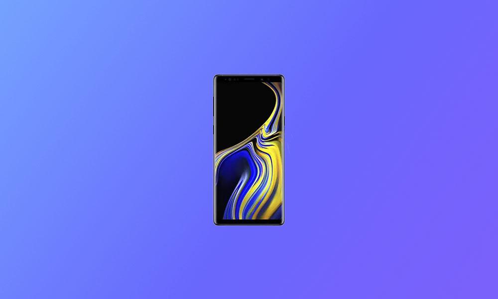 N960U1UEU5FTJ7: US UNLOCKED Galaxy Note 9 November Security Patch 2020