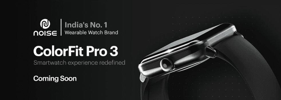 Noise Colorfit Pro 3 Amazon listing