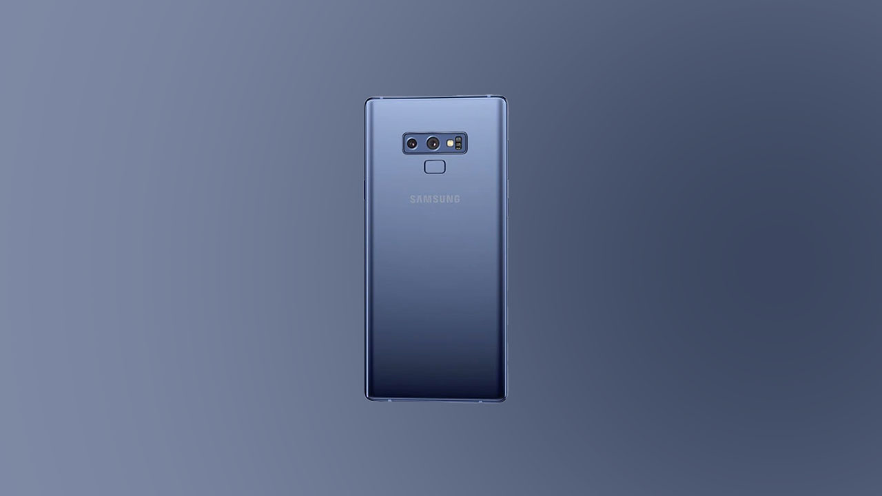 N960FXXS6FTK3 - December Security 2020 For Galaxy Note 9 (Europe)
