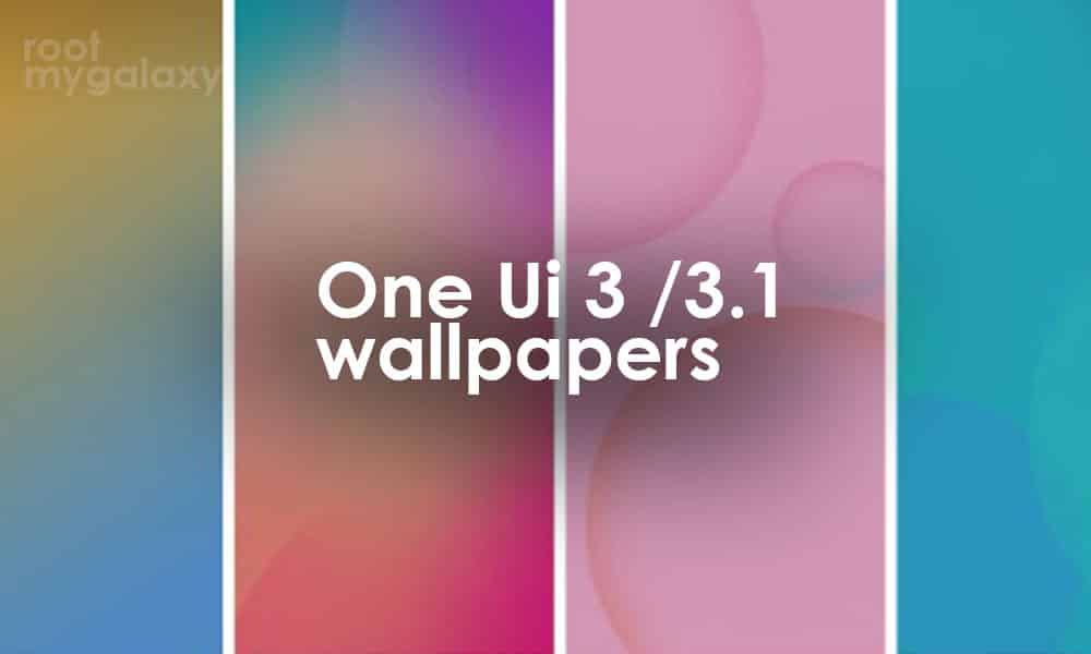 Samsung One UI 3 / 3.1 Wallpapers