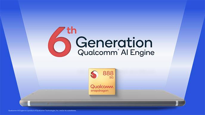 Qualcomm Snapdagon 888 chipset