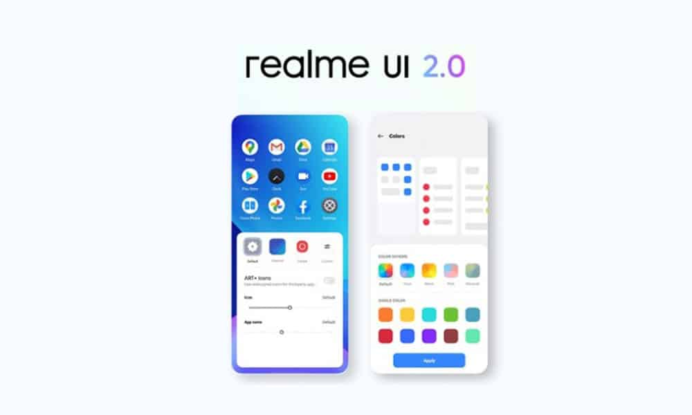 Realme UI 2.0 (Android 11) early access beta application forms live for Realme 7 and Realme X2 Pro