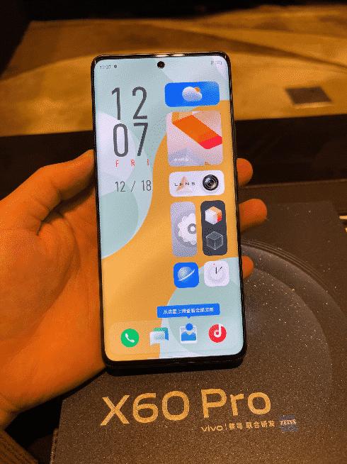 Vivo X60 pro live image(1)