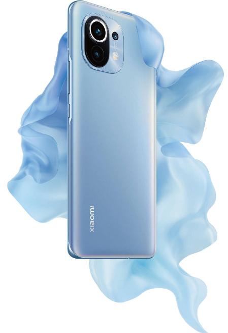 Xiaomi Mi 11 in Gradient Blue