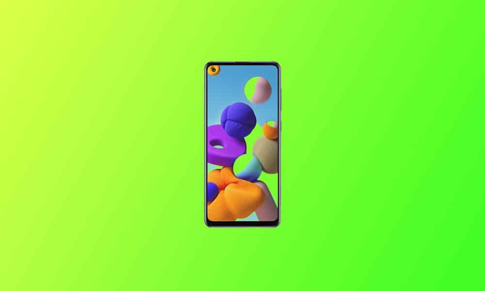 A217FXXU5BUA2 - Galaxy A21S January 2021 security patch update (Global)