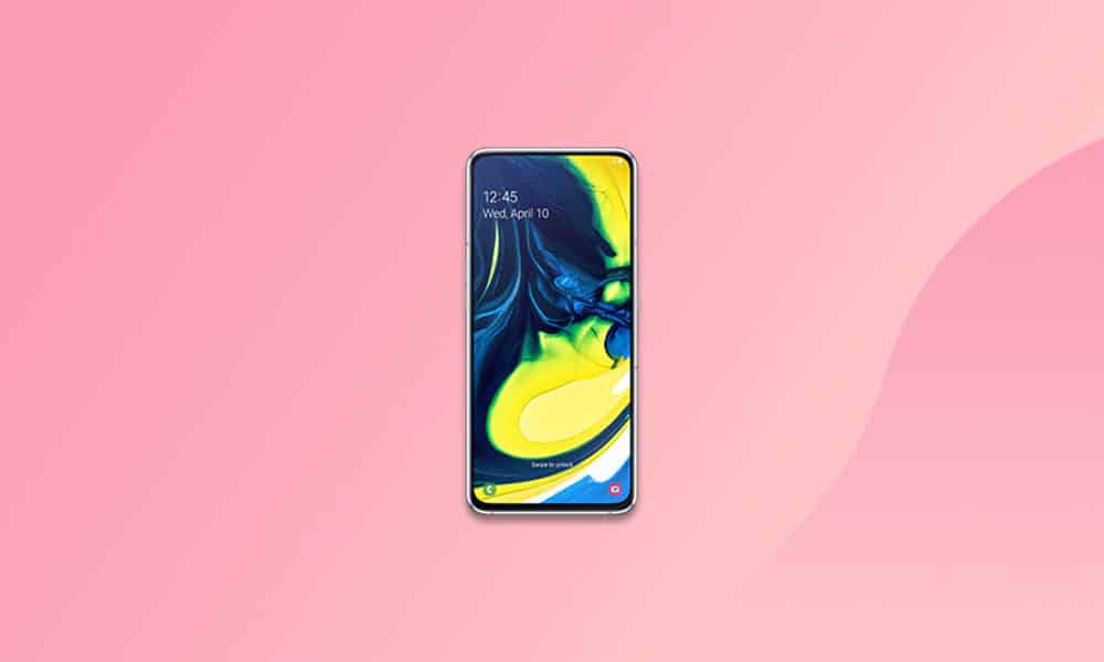 A805FXXS5BUA1 - Galaxy A80 January 2021 security patch update