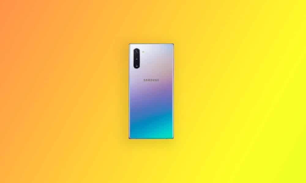 N970FXXU6DTK1 - Galaxy Note 10 December security 2020 patch update (South America)