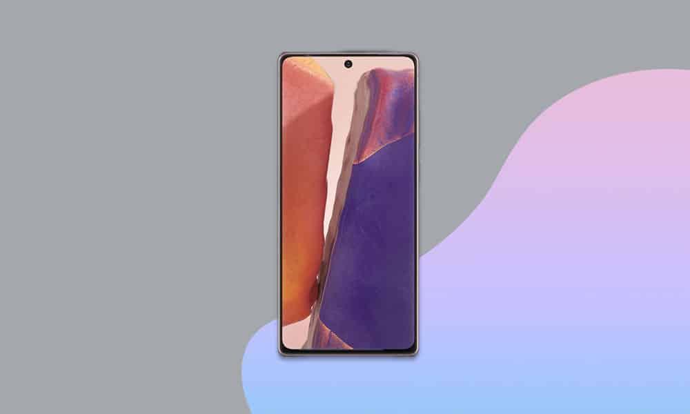N981BXXS1CUA2 - Galaxy Note 20 5G January 2021 security patch update