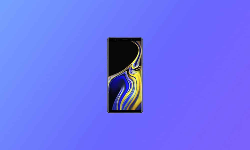N960FXXS7FUA1 - Galaxy Note 9 January 2021 security patch update (Europe)