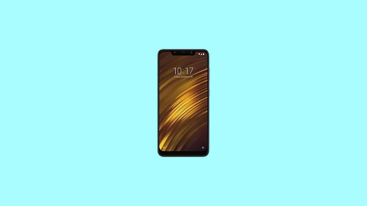 V12.0.3.0.QEJRUXM: Poco F1 MIUI 12.0.3.0 Russia Stable ROM - December security patch 2020
