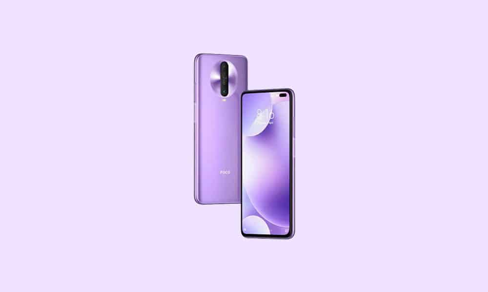 V12.1.2.0.RGHINXM: Poco X2 Android 11 India Stable ROM - January 2021 security patch