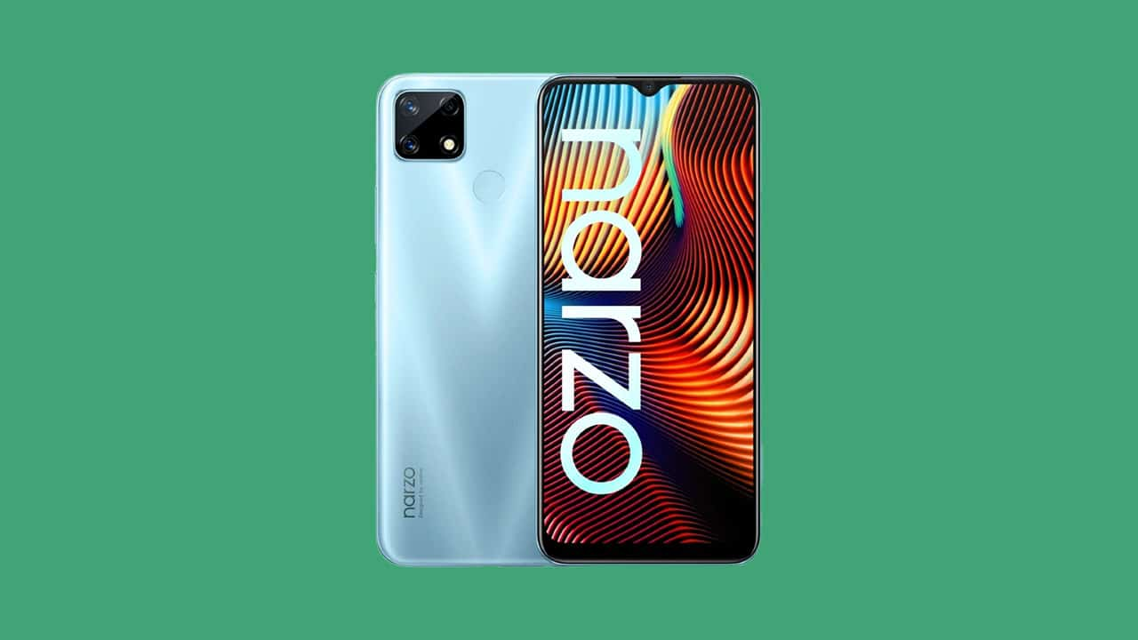 [RMX2193_11_A.25] Realme Narzo 20 gets January 2021 security patch