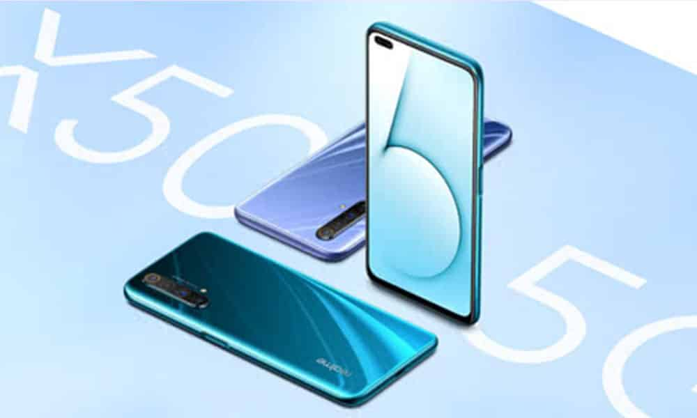 [RMX2051_11_B.20] Realme X50 5G gets January 2021 security patch in China