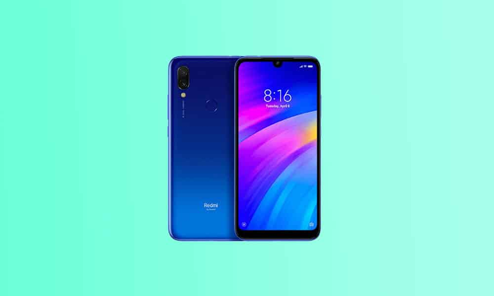 V11.0.3.0.QFLINXM - Redmi 7 MIUI 11.0.3.0 December security 2020 (India)