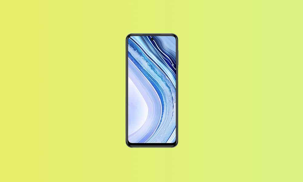 V12.0.2.0.QJZMIXM: Redmi Note 9 Pro India Stable ROM - January 2021 security patch