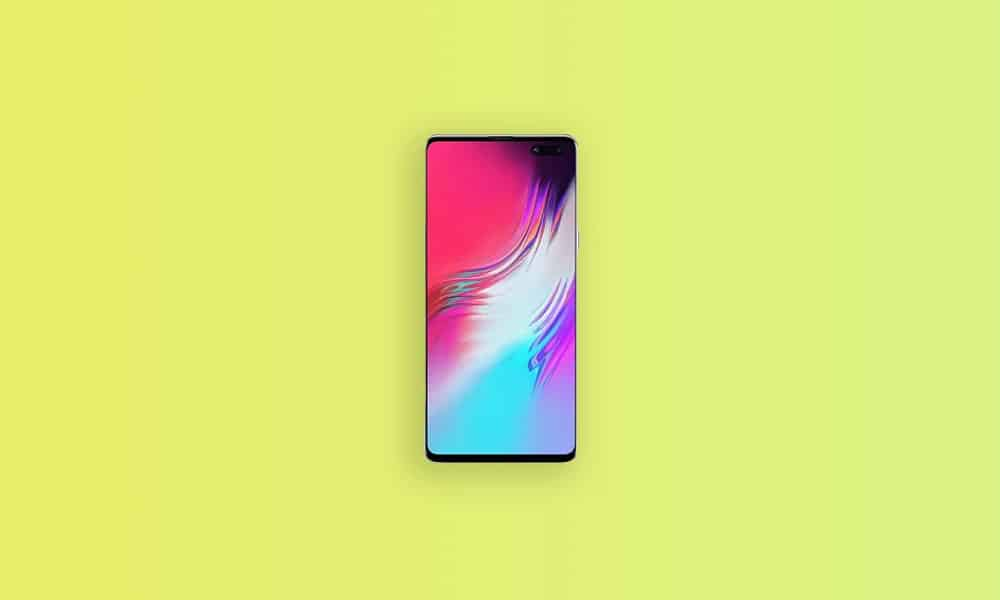 G977PVPU5EUA1 / Sprint Galaxy S10 5G Android 11 based One UI 3.0 update