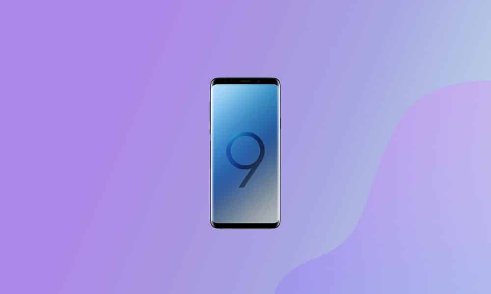 G960FXXSEFUA1 - Galaxy S9 January 2021 security patch update (Europe)